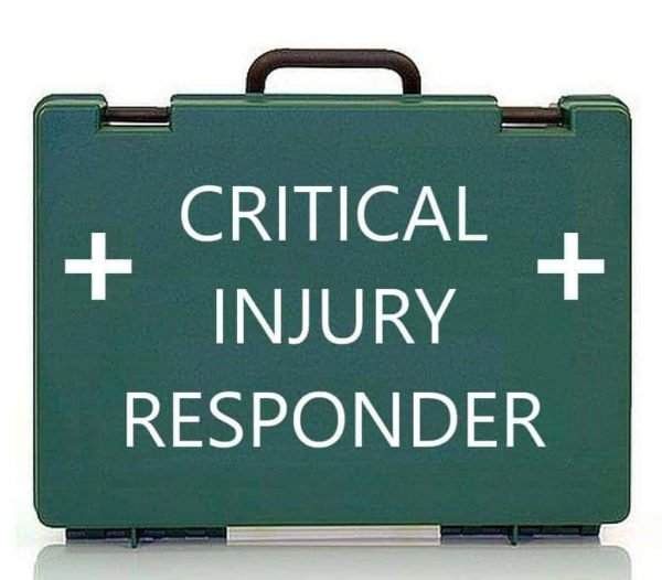 So much more than a catastrophic bleed course. Join our Critical Injury Responder Course to learn how to use the contents of the new British Standard BS8599 Part 1 2019 Critical Injury first aid kit & potentially save lives.