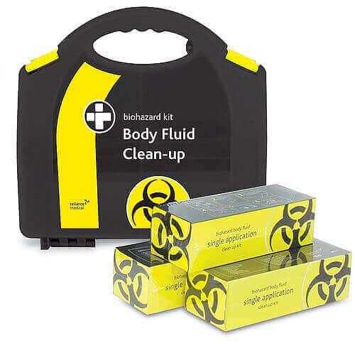 Biohazard Body Fluid Clean-up Kit