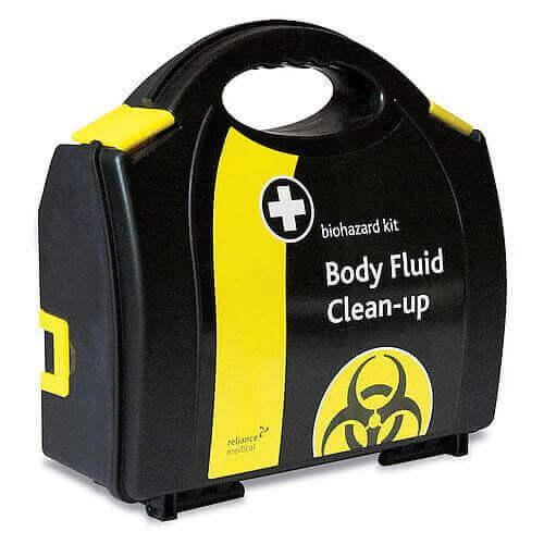 Biohazard Body Fluid Clean-up Kit Case