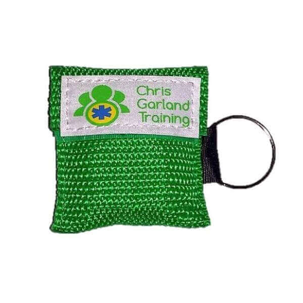 Never be without a CPR face shield with our CPR face shield key ring.