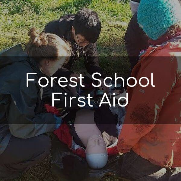 We provide Outdoor First Aid & Forest School First Aid training nationwide.