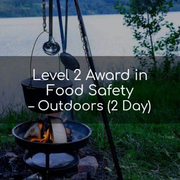 Food safety outdoors