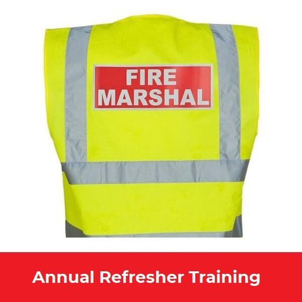 Fire Marshal Annual Refresher Training