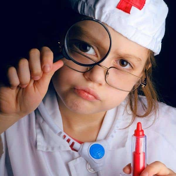 Junior Doctors Course is specifically designed for children aged between 5 and 10 years of age.