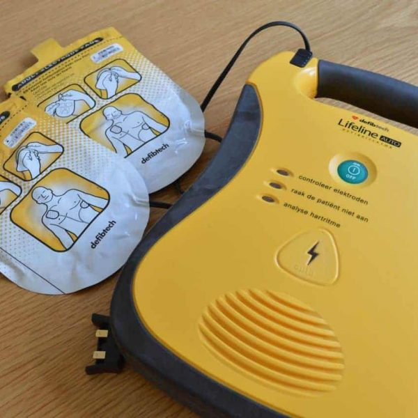 Image of an AED Defibrillator