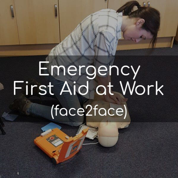 Emergency First Aid at Work (face2face)