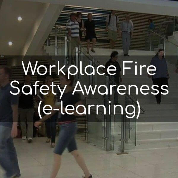 Workplace Fire Safety Awareness (e-learning)