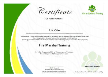 Generic CGT Certificate