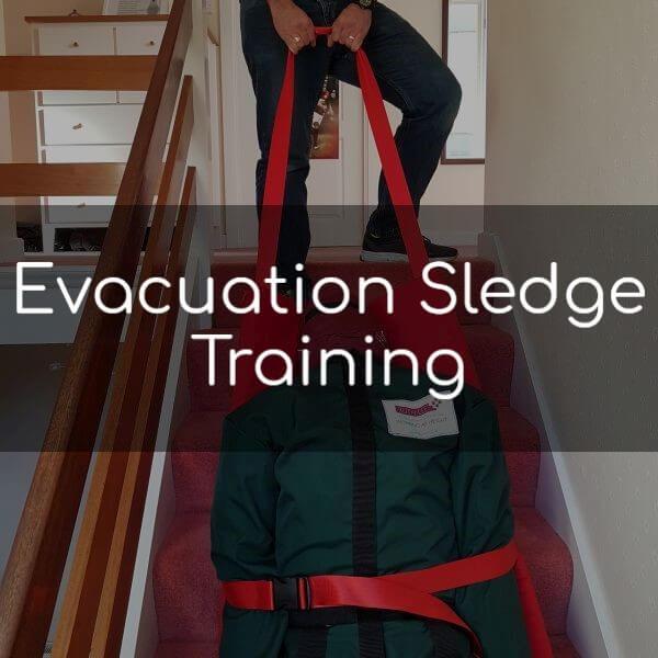 Evacuation Sledge Training