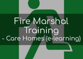 Fire Marshal Training for Care Homes (e-learning)