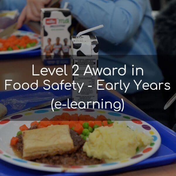 Level 2 Award in Food Safety early years