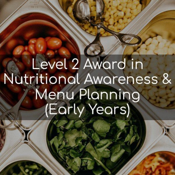 Level 2 Award in Nutritional Awareness & Menu Planning (Early Years)