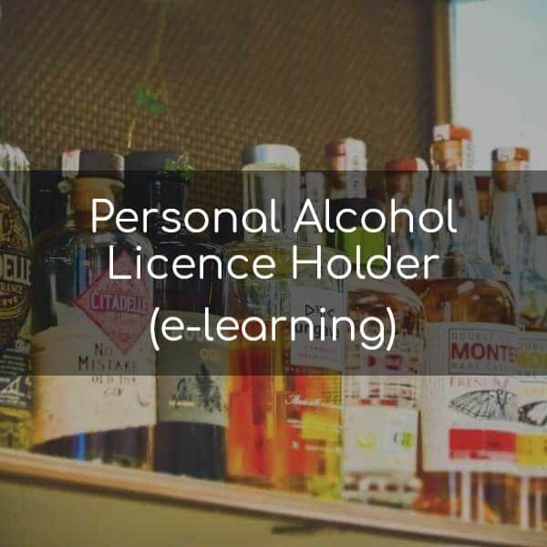 Personal Alcohol Licence Holder E-Learning