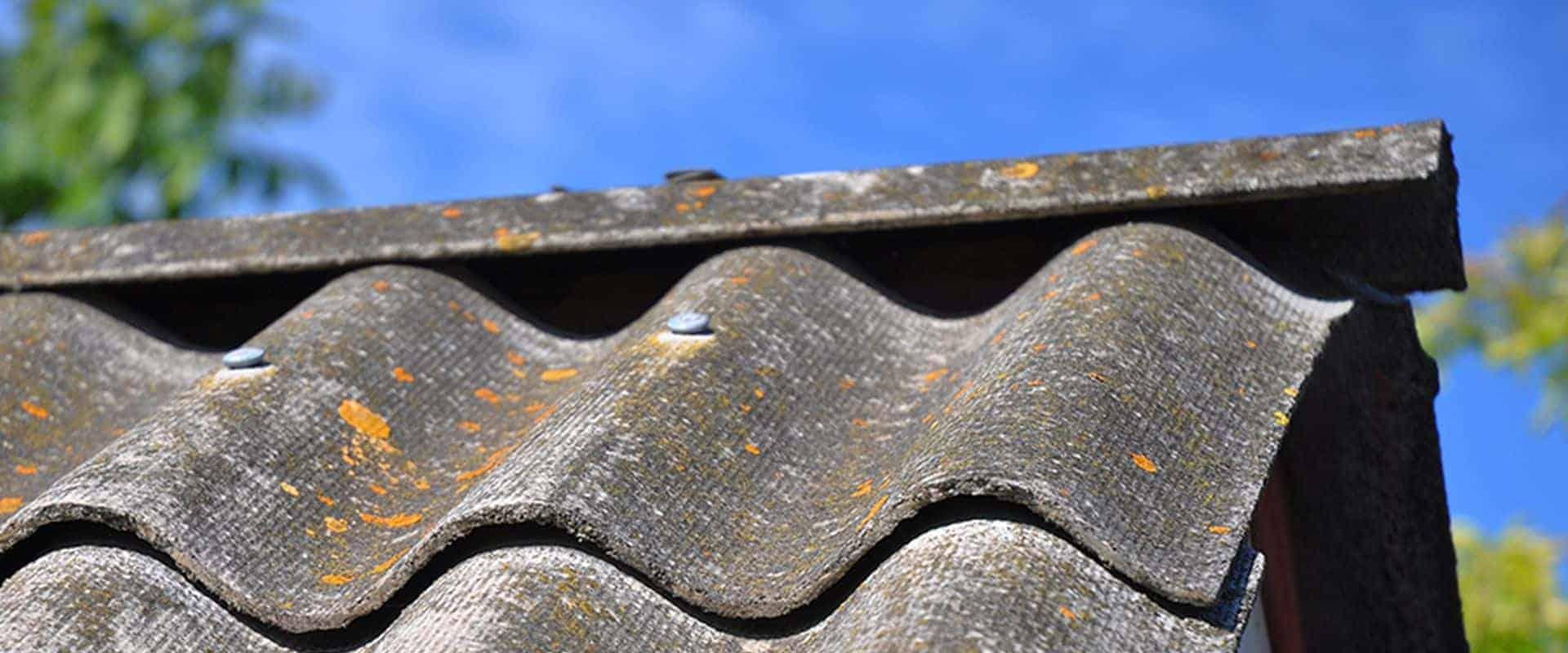 Asbestos Awareness Course - Asbestos Roof Tiles