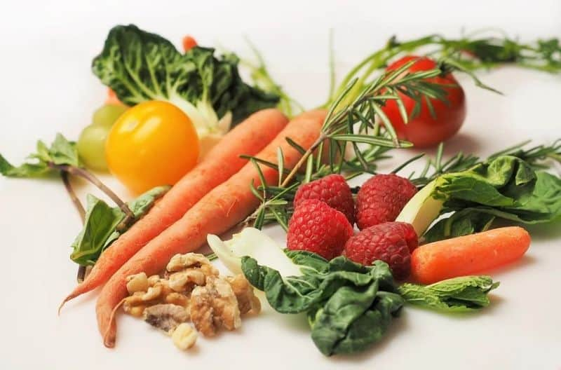 Nutrition - Image of a pile of lovely fresh fruit and vegetables