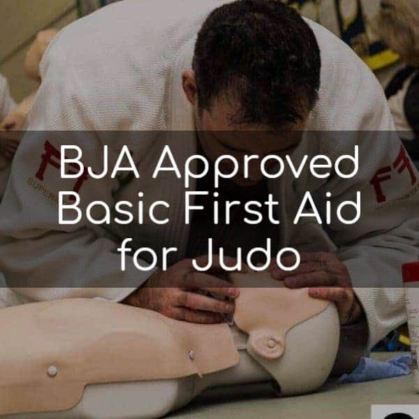 BJA Approved Basic First Aid for Judo