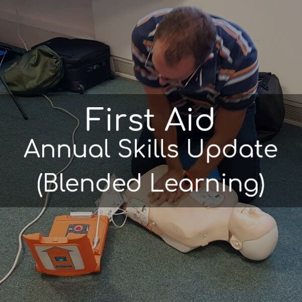 First Aid Annual Skills Update (Blended Learning)