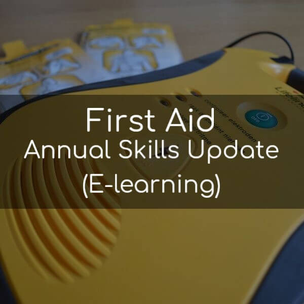 First Aid Annual Skills Update (E-learning)