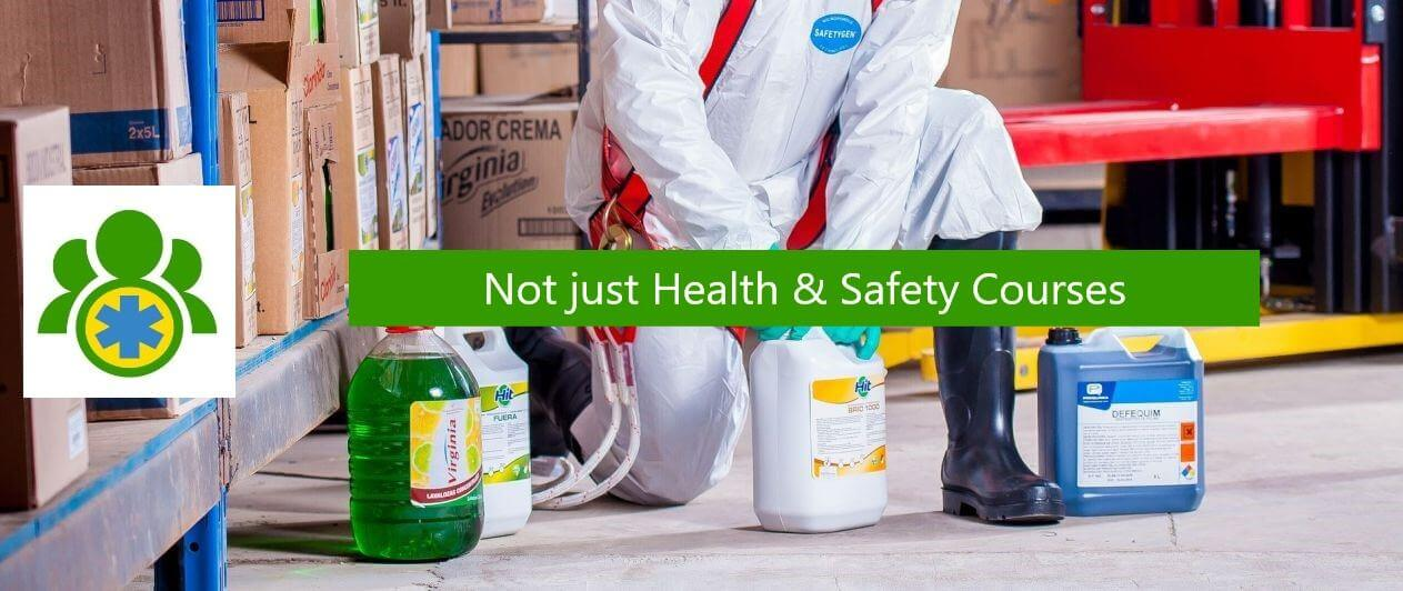 Header image - Not just health and safety courses