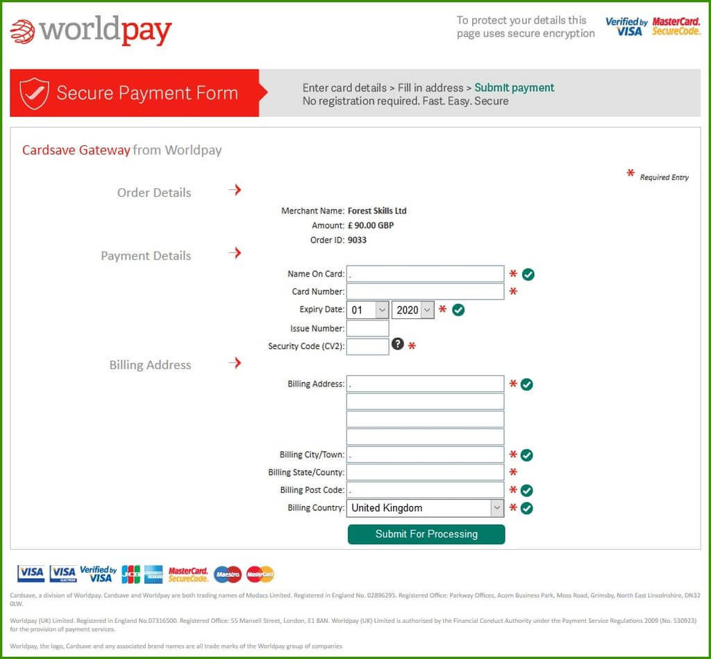 WorldPay Payment Gateway image