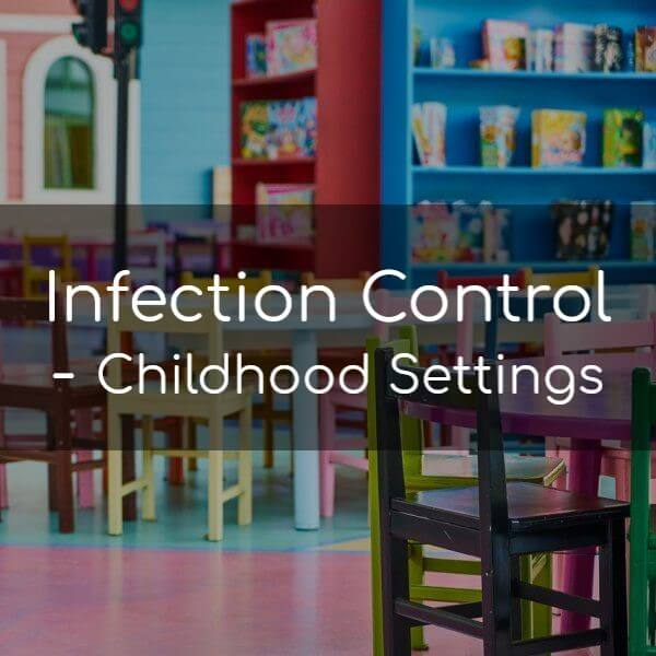 Infection control in a Childcare Setting