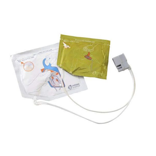 Cardiac Science Powerheart G5 Pads - Adult CPR Prompt