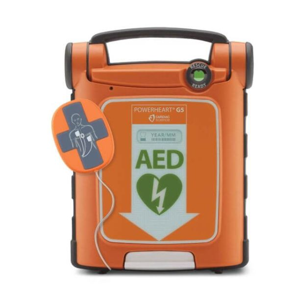 Cardiac Science Powerheart G5 AED with CPR sensor