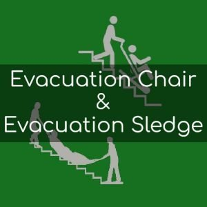 Evacuation Chair & Evacuation Sledge Training