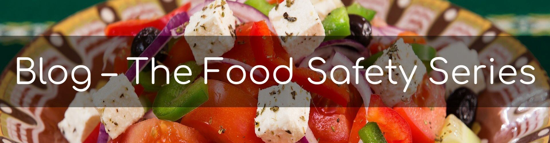 Blog - The Food Safety Series - Title image