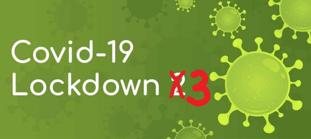 Covid-19 Lockdown 3 - Header image