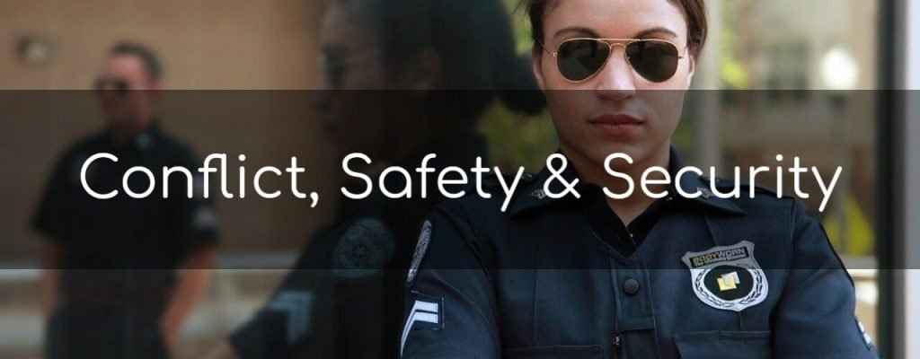 Conflict, Safety & Security Courses