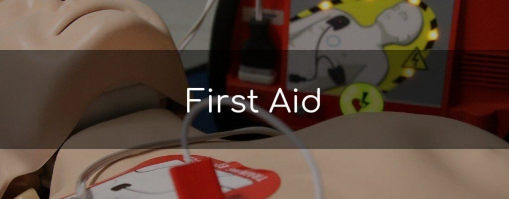 Workplace, home & outdoor first aid courses