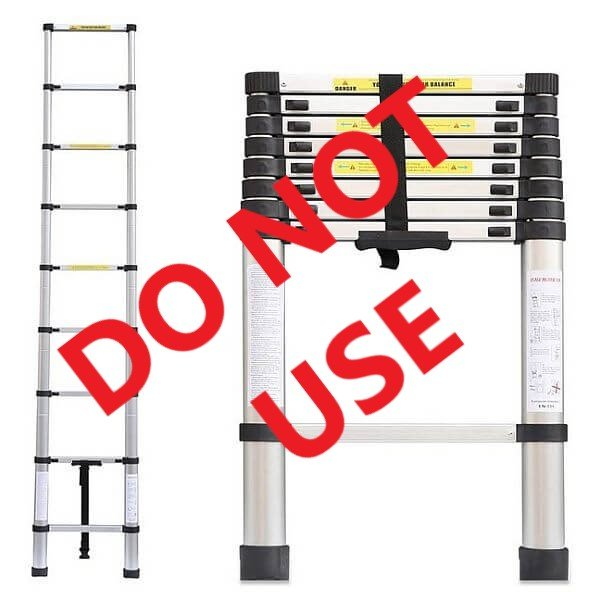 2.6m Telescopic Ladders